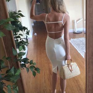 NWT ASOS white dress